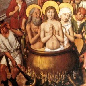 martirio dei santi vito, modesto e crescenzia