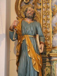 statue: san pietro
